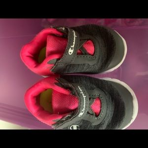 Girls size 3 champion sneakers